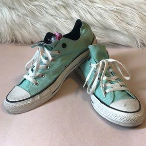 Mint Green Converse